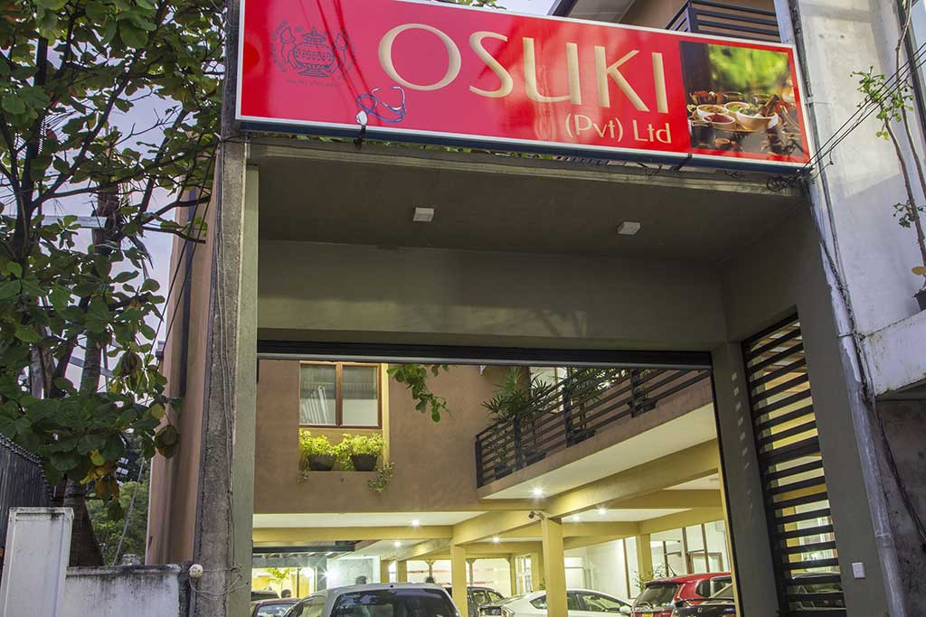 Osuki Ayurveda (Pvt) Ltd in Sri Jayawardenepura Kotte, Colombo